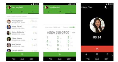 Hangouts se actualiza con llamadas de voz gratuitas y correo de voz