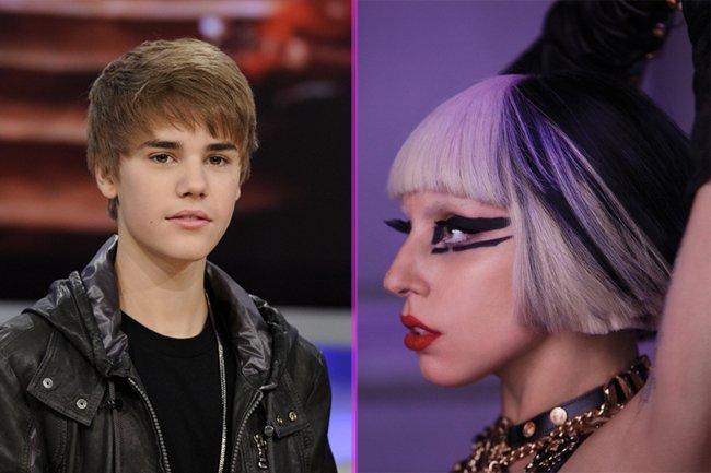 Lady Gaga y Justin Bieber