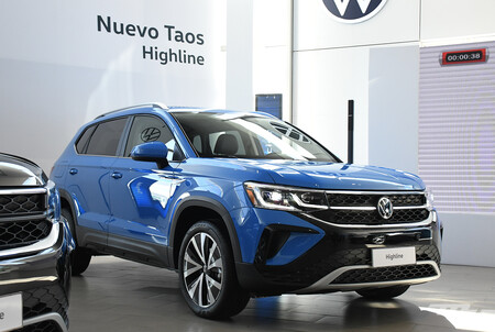 Volkswagen Taos Mexico Versiones 9