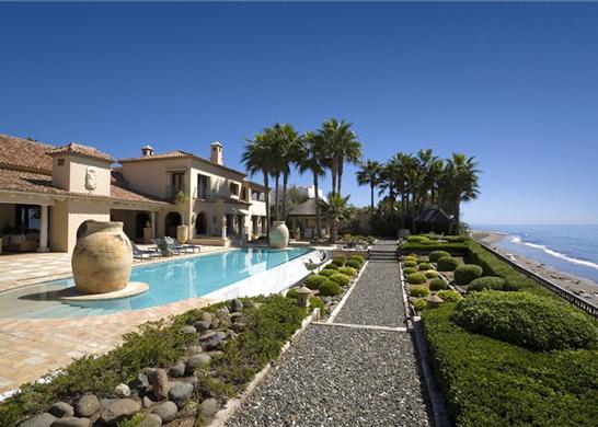 Casa de lujo en espa a los monteros marbella - Casas de lujo malaga ...
