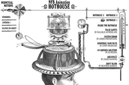 Nueva edición de Hothouse, programa de animación de la National Film Board of Canada