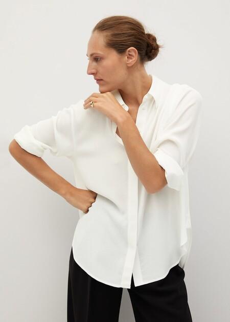 Camisa oversize textura