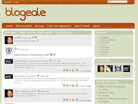 Blogeale, microblogging de bloggers y lectores de blogs