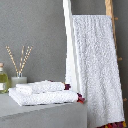 toalla blanco