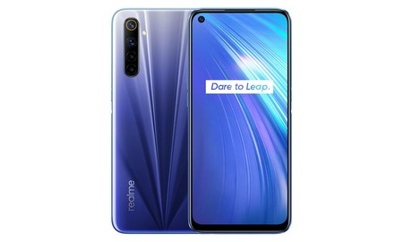 El Realme 6 es uno de los smartphones más recientes de la marca y en eBay, con el cupón PQ22020, te sale por 224,10 euros