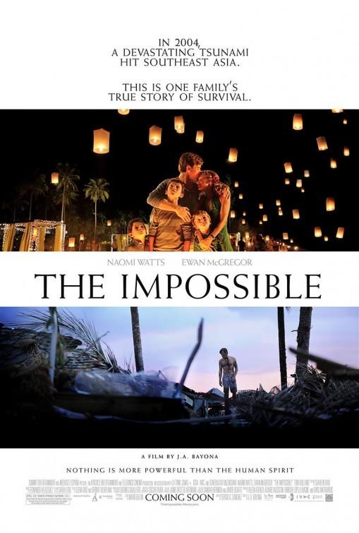 'Lo imposible', todos los carteles