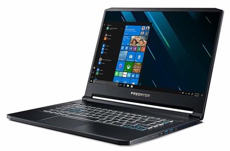 Portátil gaming Predator Triton 500, con Core i7 y gráfica GeForce RTX 2060, con 300 euros de descuento en las rebajas de Acer