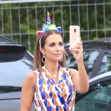 Paula Echevarría es la reina de los maxi vestidos y el de su último look es ideal