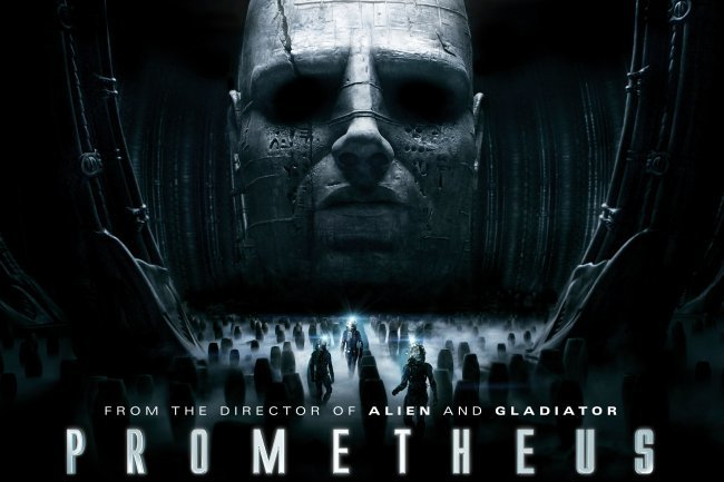 Imagen del póster de Prometheus