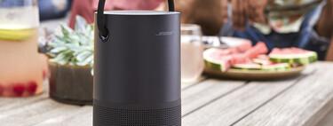 El altavoz portátil Bose Smart Speaker con AirPlay 2 está rebajado a 254,91 euros, uno de sus precios más bajos en Amazon