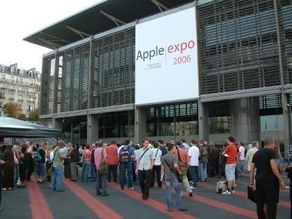 Fotos desde la Apple Expo 2006 de París