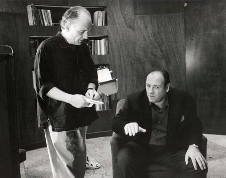David Chase y James Gandolfini