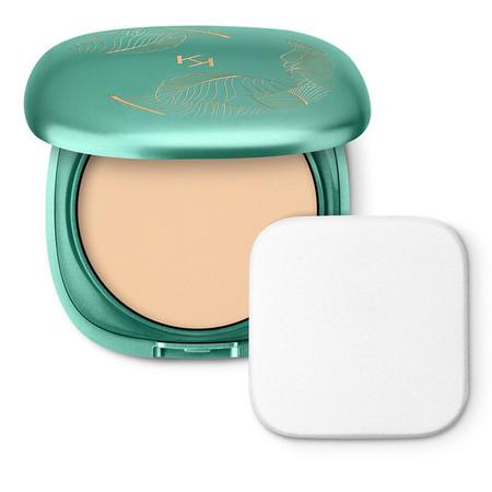 Base de maquillaje matificante Wet & Dry con SPF 50 UVA/UVB, resistente al agua  Unexpected Paradise Powder Foundation Spf 50
