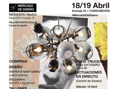 18 y 19 de abril, nueva edición del Mercado de Diseño en Matadero Madrid