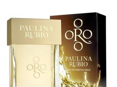Oro, la nueva fragancia de Paulina Rubio
