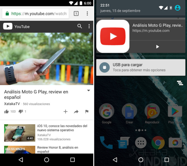 Chrome Vídeos Segundo Plano