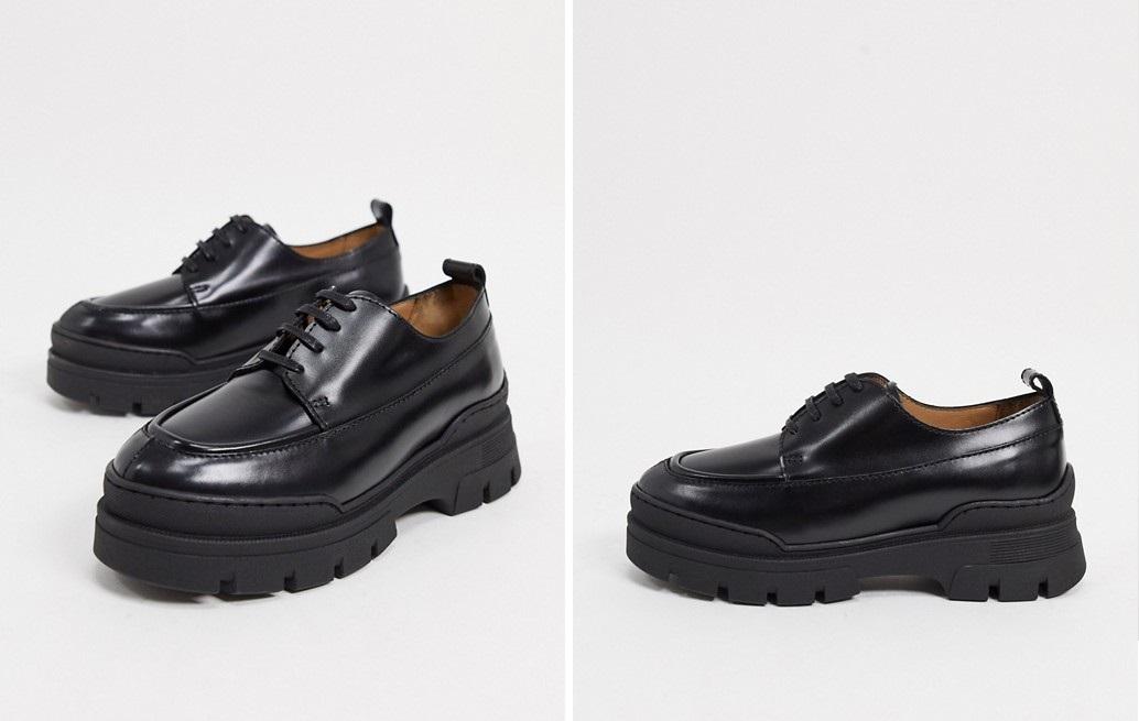 Zapatos creepers con cordones y suela chunky de &Other Stories