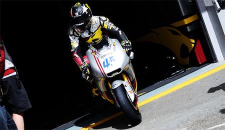 Scott Redding marca el ritmo en Moto2