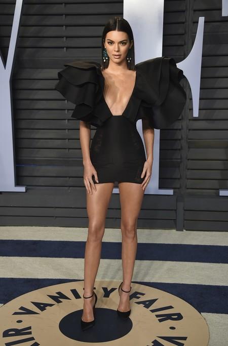 Alfombra Roja Vanity Fair Oscar 2018 Kendall Jenner Redemption