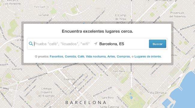 foursquare mapas