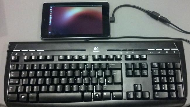Ubuntu coquetea con las tablets sacando un instalador para el Nexus 7