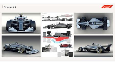 Prototipos F1 2021 Concepto 1