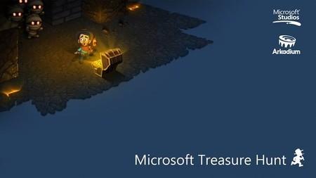 Echando unas partidas a Microsoft Treasure Hunt