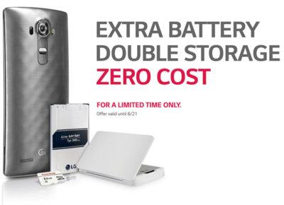 El pack de imprescindibles para el LG G4 existe y es gratis, pero sólo en Estados Unidos