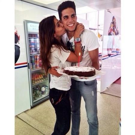 Así felicita el cumpleaños Marc Bartra a su chica: con sorpresa