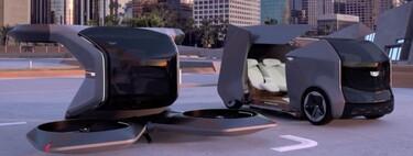 Así ve Cadillac el futuro: un dron gigante que funciona como vehículo autónomo, eléctrico y volador