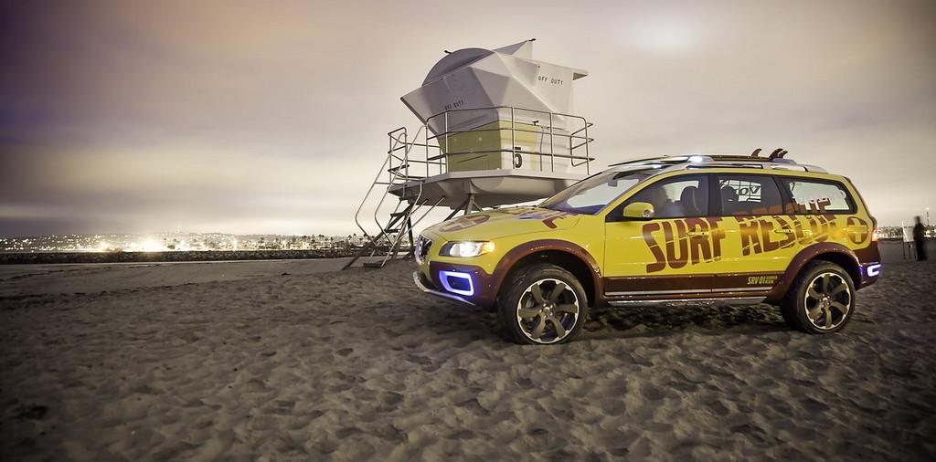 Foto de Volvo XC70 vigilante de la playa (6/26)