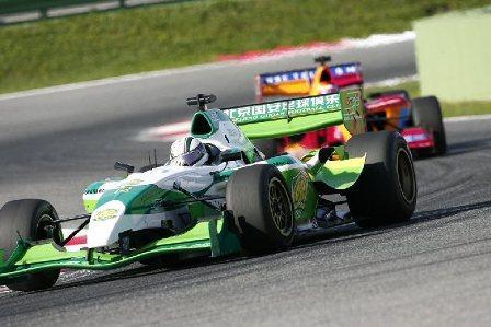 Davide Rigon convierte al Beijing Guoan en el primer campeón de la Superleague Formula
