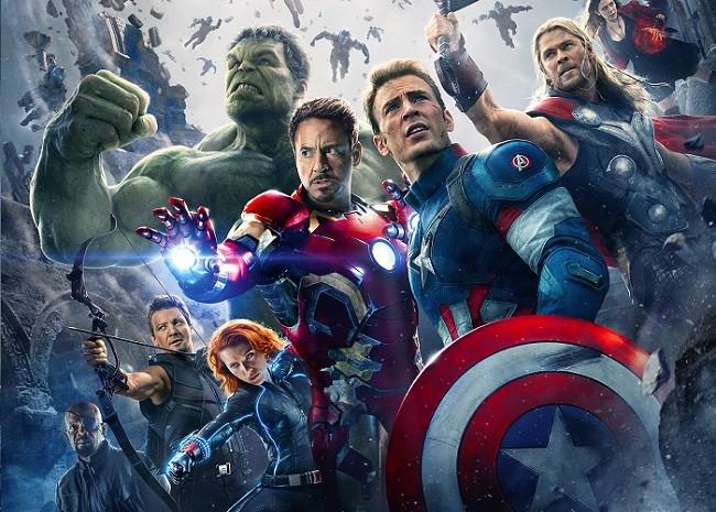 Cartel de 'Vengadores: La era de Ultrón'