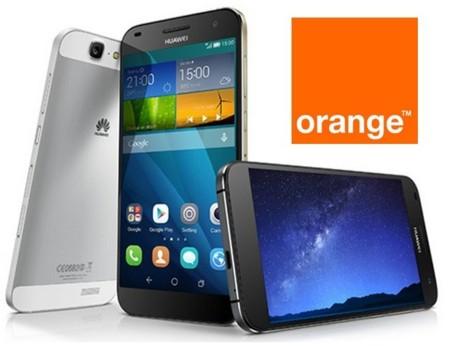 Precios Huawei Ascend G7 con Orange y comparativa con Yoigo y Amena