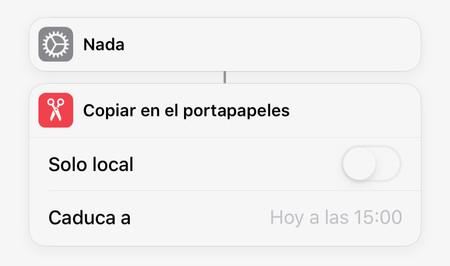 Atajo Portapapeles