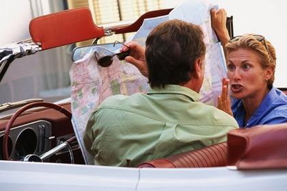 Funciones secretas de tu GPS: reducir las discusiones de pareja
