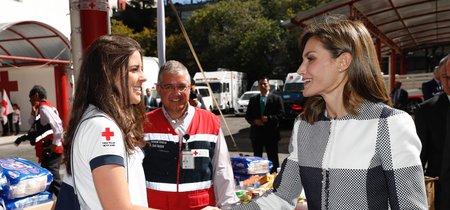 Doña Letizia estrena look en México