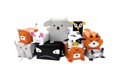 kit para envolver tus regalos como si fueran animales