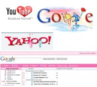 San Valentín en Internet