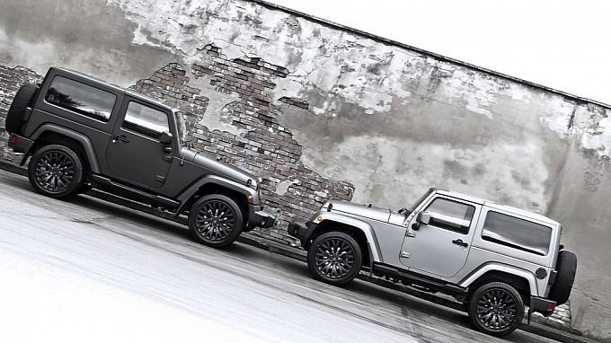 Foto de Kahn Jeep Wrangler CJ300 Matte Pearl Platinum (4/12)
