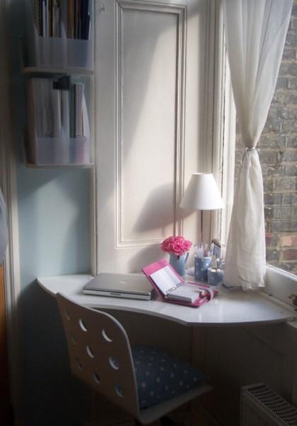 Soluciones mínimas: un escritorio en una esquina olvidada