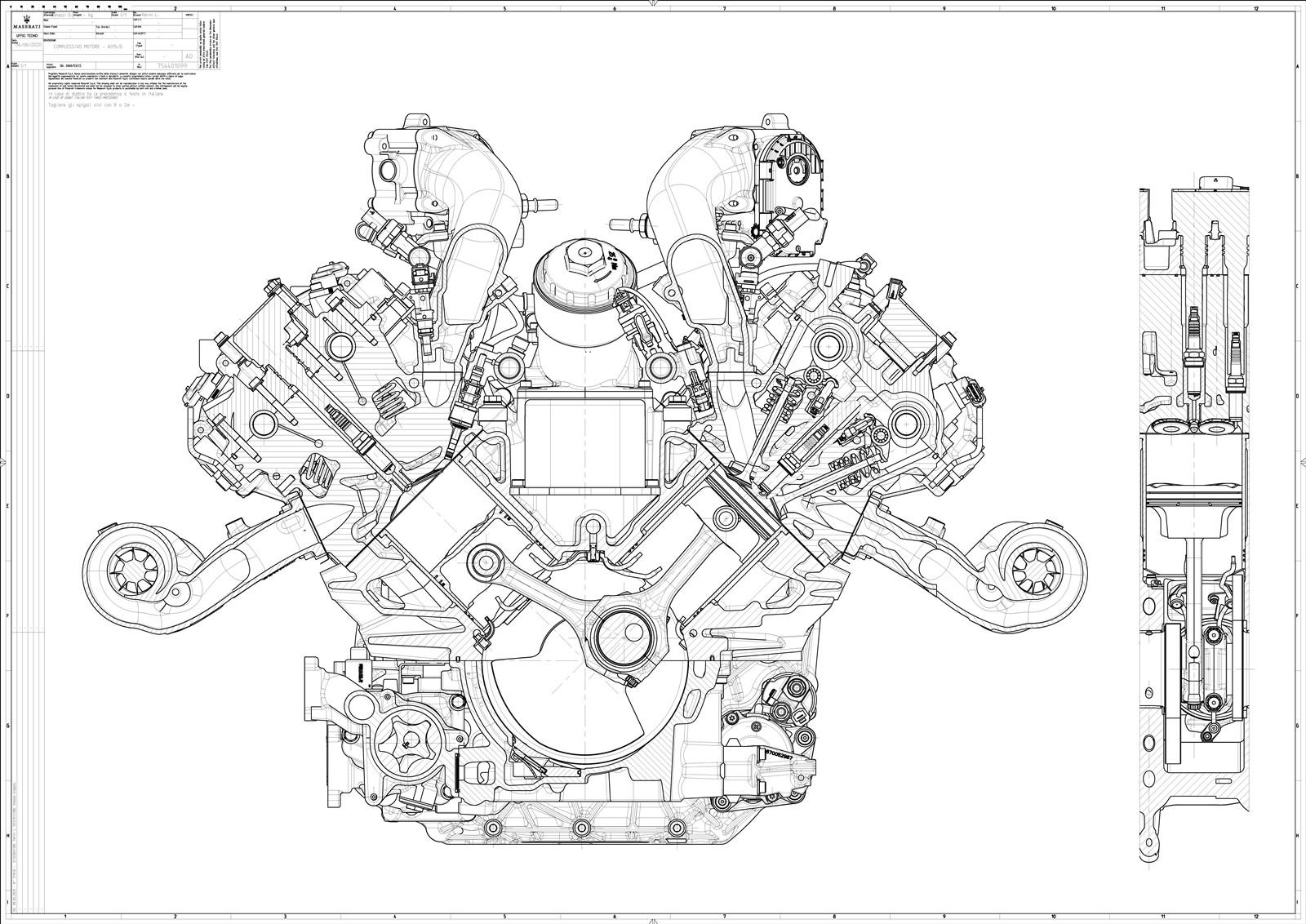 Foto de Motor Maserati Nettuno 2020 (4/10)