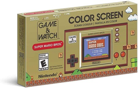 Game & Watch de Super Mario Bros de oferta en Amazon México