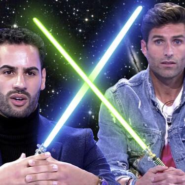 """Tenso cara a cara entre Efrén Reyero y Asraf Beno en 'MyHyV' por el estado de embriaguez de Isa Pantoja en la discoteca: """"Todo esto me parece muy turbio"""""""