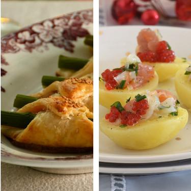 51 aperitivos y entrantes fáciles para sorprender en las comidas y cenas de Navidad