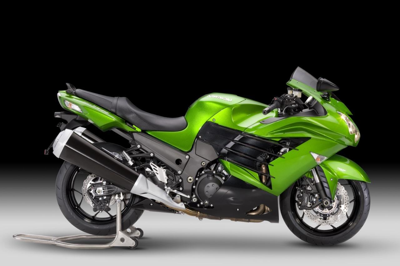 Nueva Kawasaki ZZR 1400 2012, el Sport Turismo nunca muere