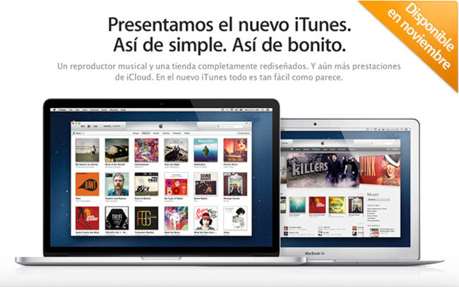 Retraso del lanzamiento de iTunes 11