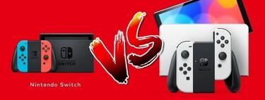 Switch modelo OLED vs Switch original: comparativa de características técnicas y diferencias entre las consolas de Nintendo