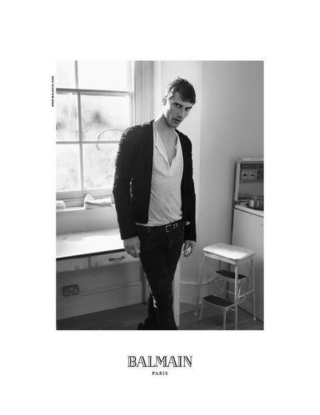 Los esenciales de Balmain para el Otoño-Invierno 2012/2013 se presentan a modo de campaña