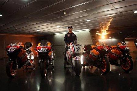 Las cinco motos de Dani Pedrosa en el mundial de MotoGP